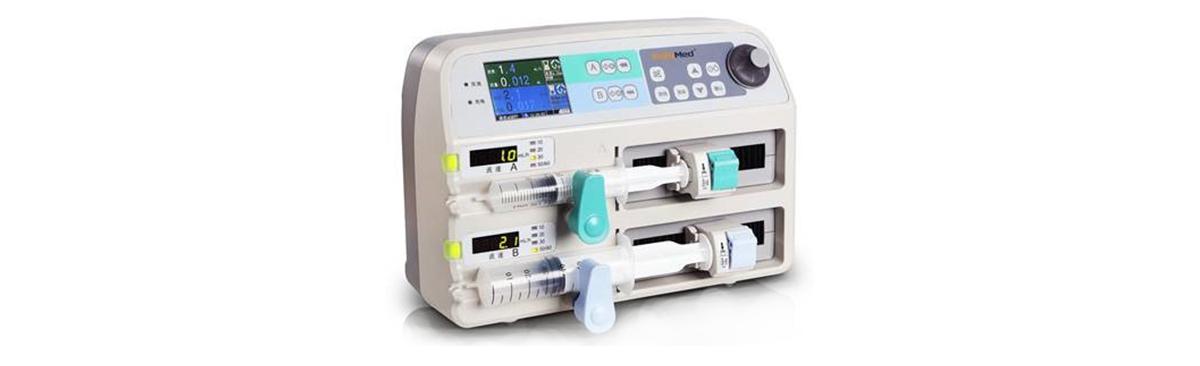 一体化无刷电机在注射泵上的应用案例